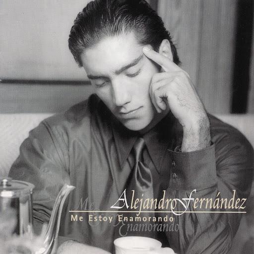 Alejandro fern ndez me estoy enamorando 1997 for Cancion en el jardin de alejandro fernandez
