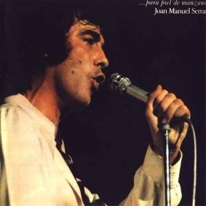 Joan Manuel Serrat - Para Piel De Manzana - Front