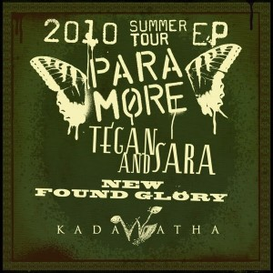 Paramore - 2010 Summer Tour EP
