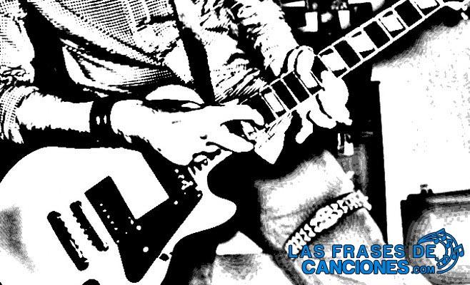 frases de canciones de rock